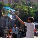 Sevilla. Pompas de jabón (1)
