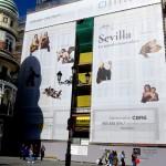 Sevilla. Murillo en pared y Archivo de Indias (1)