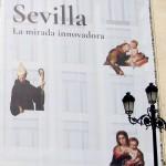 Sevilla. Murillo en pared y Archivo de Indias (4)