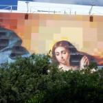 Sevilla. Murillo en pared y Archivo de Indias (7)