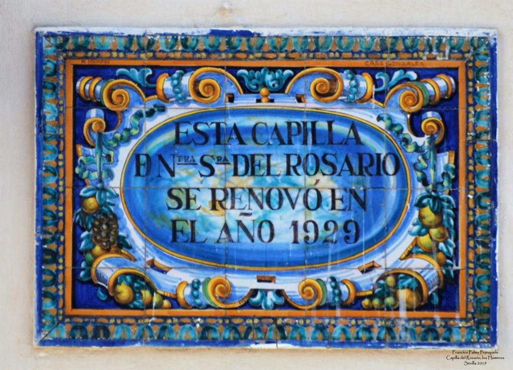 Sevilla. Capilla del Rosario, los Humeros (8)