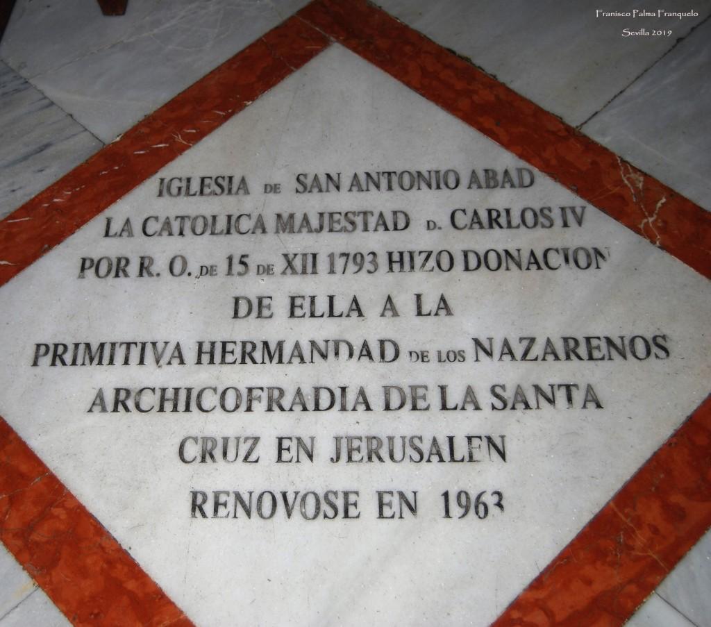 Sevilla. Iglesia de San Antonio Abad (1)